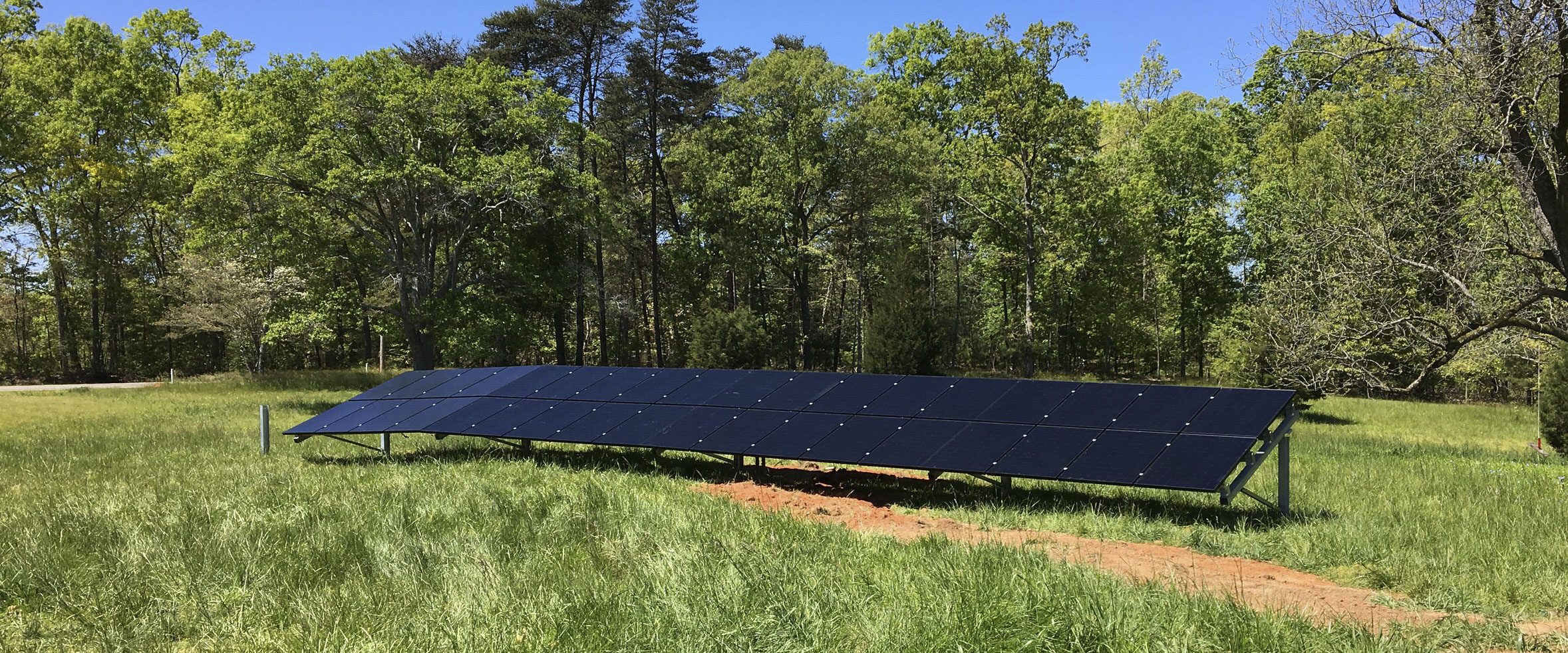 solar panels installed when taking my house off-grid