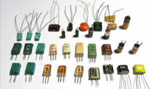 Transistors from the 1960s