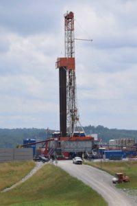 A Pennsylvania drilling rig