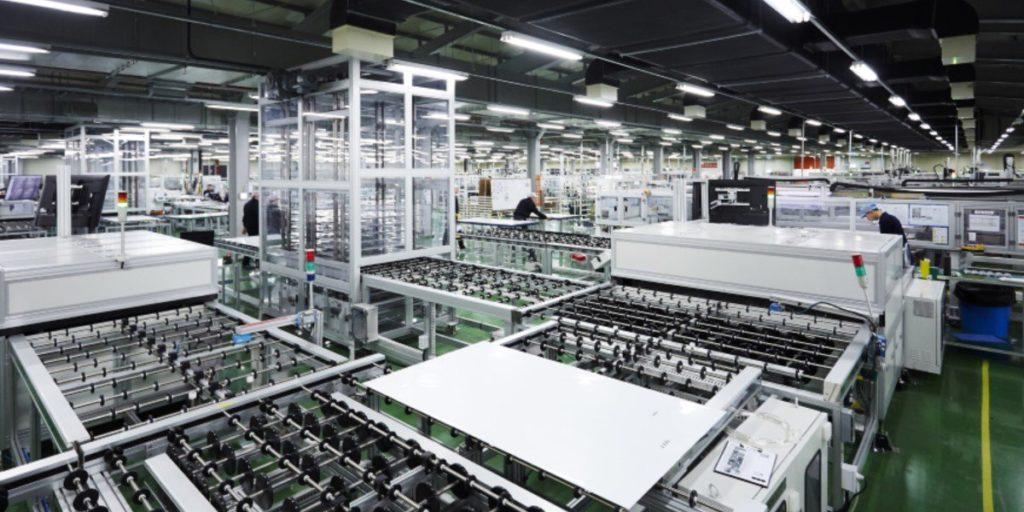 Hanwha QCELLs solar module factory in Georgia