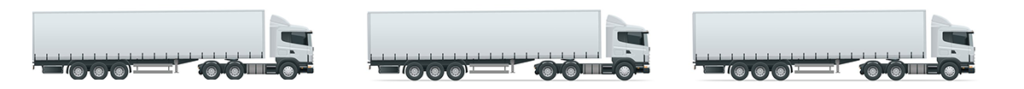Three trucks - the amount of space required to hold the CO2 from 800 pounds of burned coal