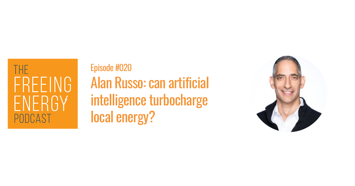 Alan Russo: Can artificial intelligence turbocharge local energy?