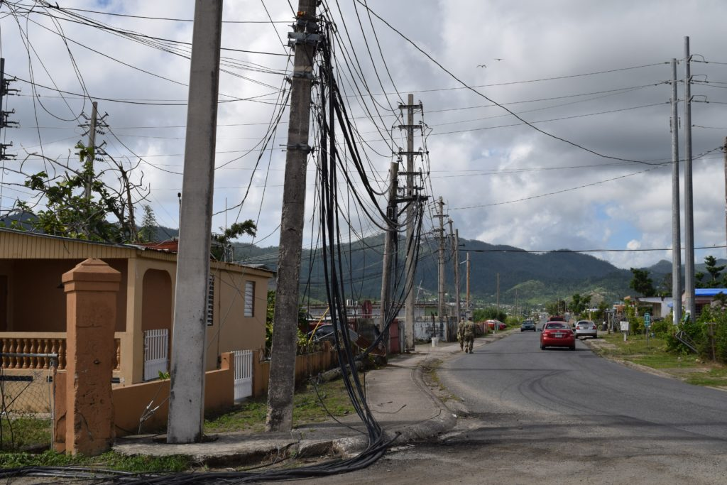 puerto rico downed power lines