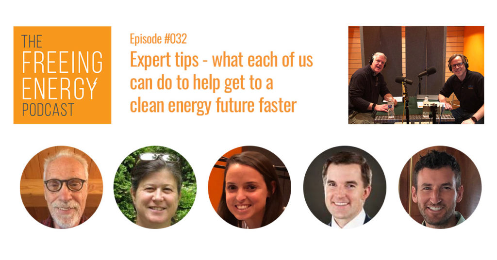 6 experts share ideas on how individuals can accelerate the shift to renewable energy