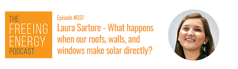 Lara Sartore Ecoprogetti podcast interview building integrated photovoltaics pv