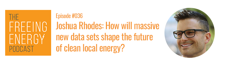 Podcast with Joshua Rhodes on how data is reshaping the US electric grid